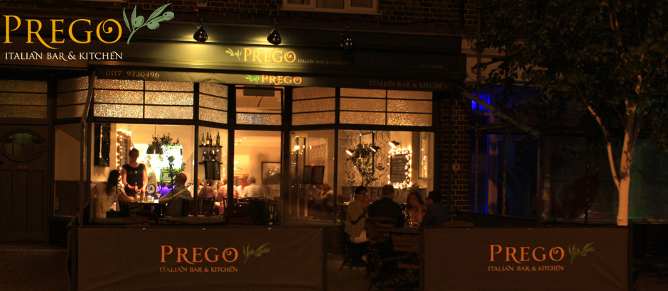 Prego, Italian Bar & Kitchen